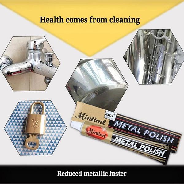 Stainless Steel Metal Polishing Paste