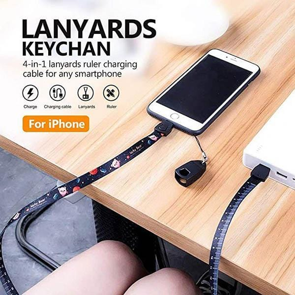 Mobile Phone Lanyard Data Cable
