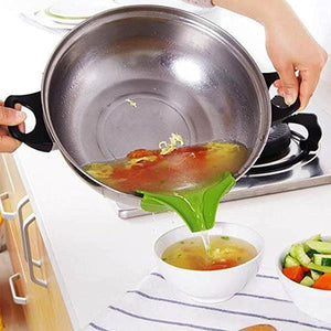 Anti-spill Kitchenware Deflector