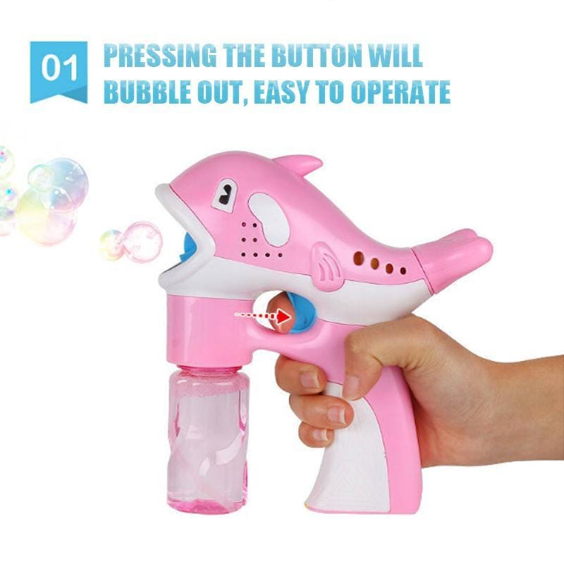 Blowing Bubble Machine