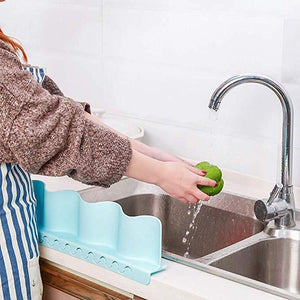 Kitchen Sink Basin Water Splash Guard