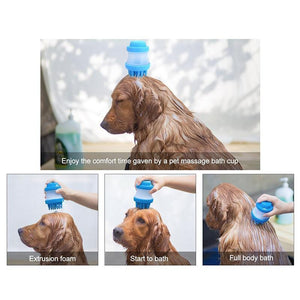 Pet Bathing Massage Brush