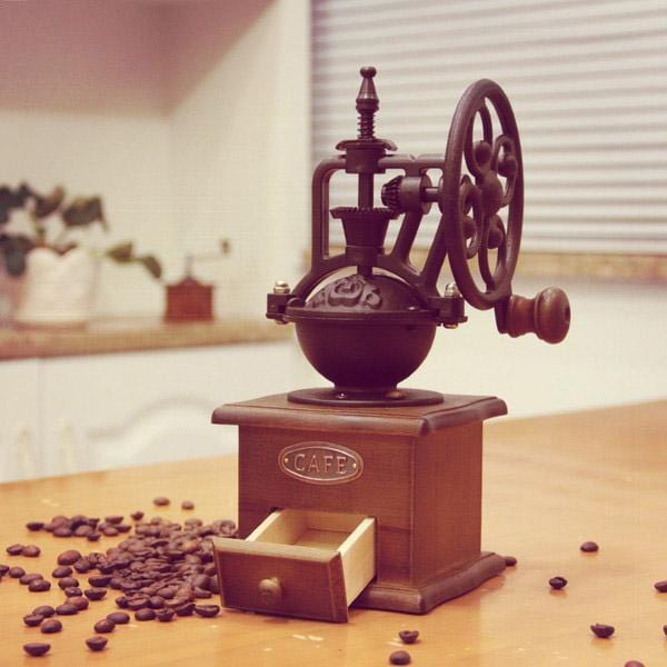 Retro Ferris Wheel Hand Coffee Machine