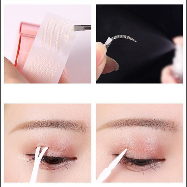 Lace Double Eyelid Tape Stickers