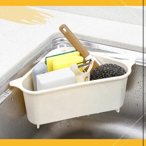 Triangle Storage Holder Multifunctional Drain Shelf