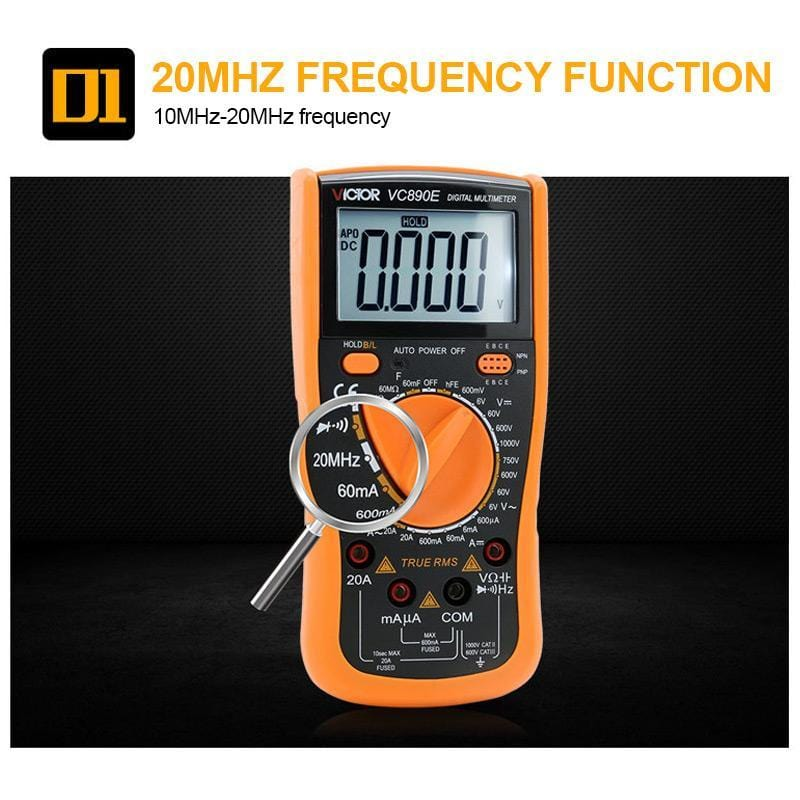 VC890C+ Digital Multimeter