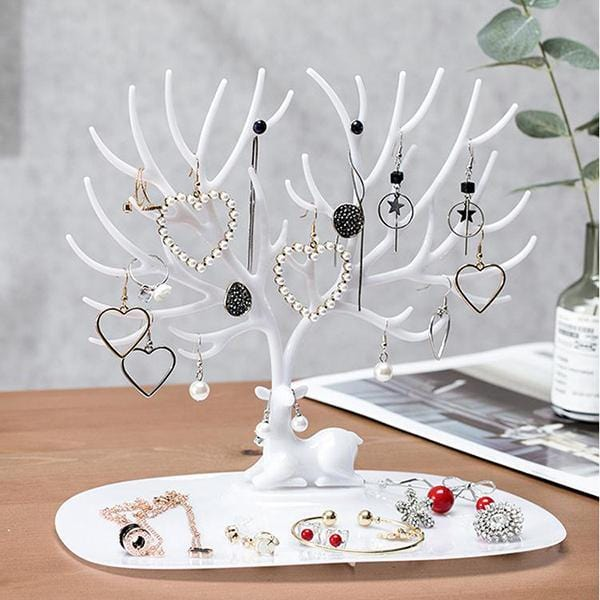 Creative Little Deer Jewelry Display Storage Rack