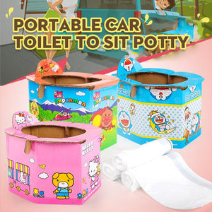 Portable Car Toilet To Sit Potty