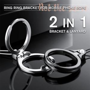 Ring Ring Bracket For Mobile Phone Rope