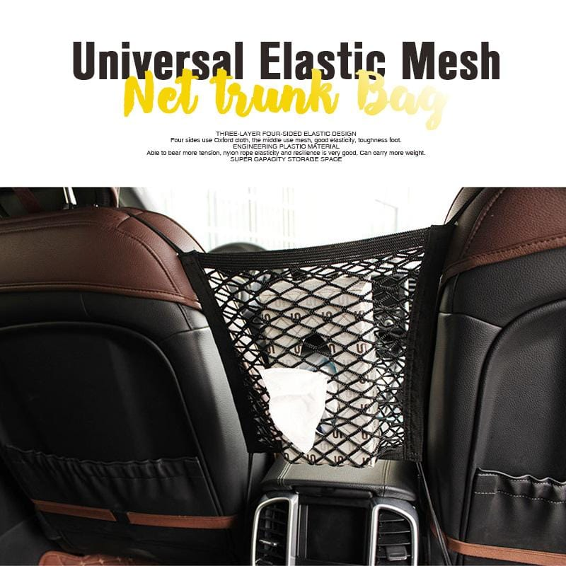 【New Year Special Prices】Universal Elastic Mesh Net trunk Bag ( Buy 2 Free Shipping )