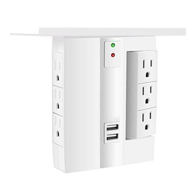 Multi-function Tray Wall Plug ( US Standard )