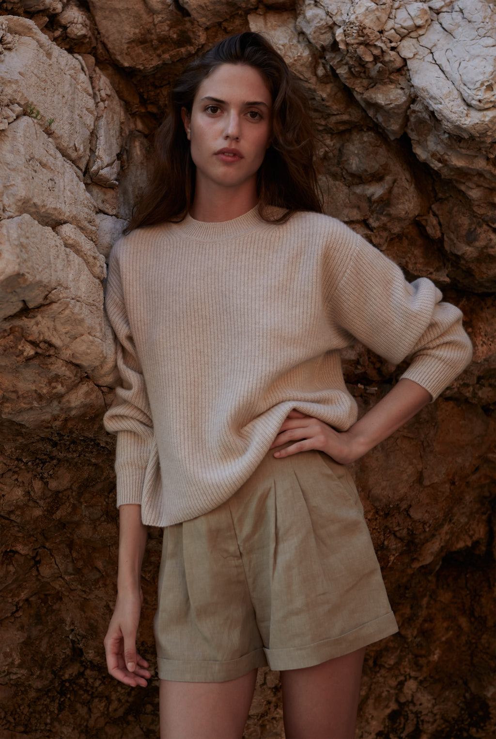 SOCOTRA cashmere sweater