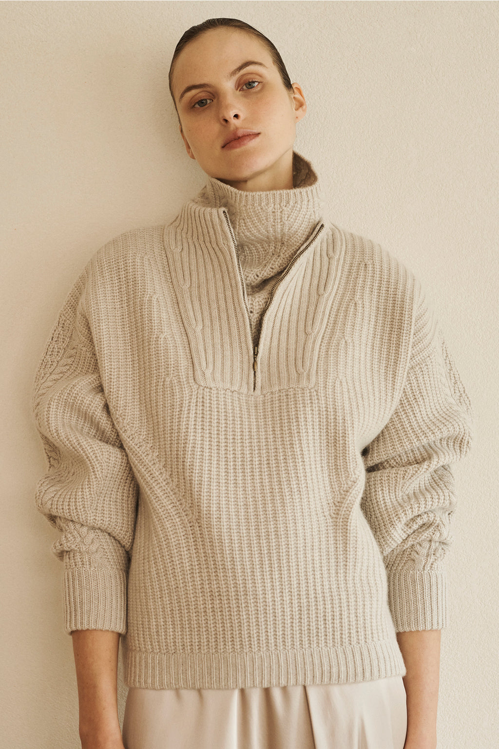 GLASCOW cashmere sweater