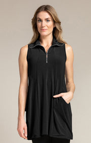 Sleeveless Double Take Tunic