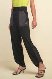 Pull-On Button Tab Jogger