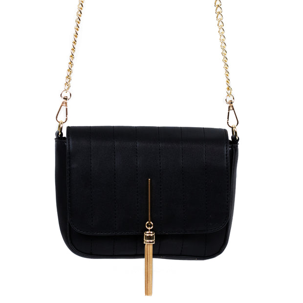 Crossbody with Gold Chain