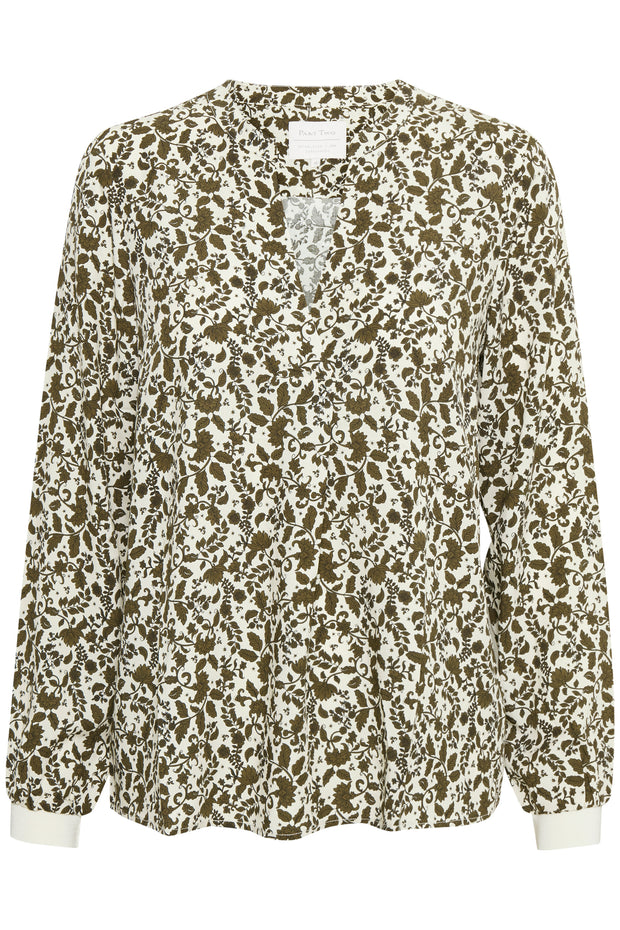Tonnie Fragile Flower Print Blouse