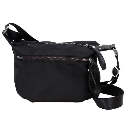 CROSSBODY COMPACT BLACK HANDBAG