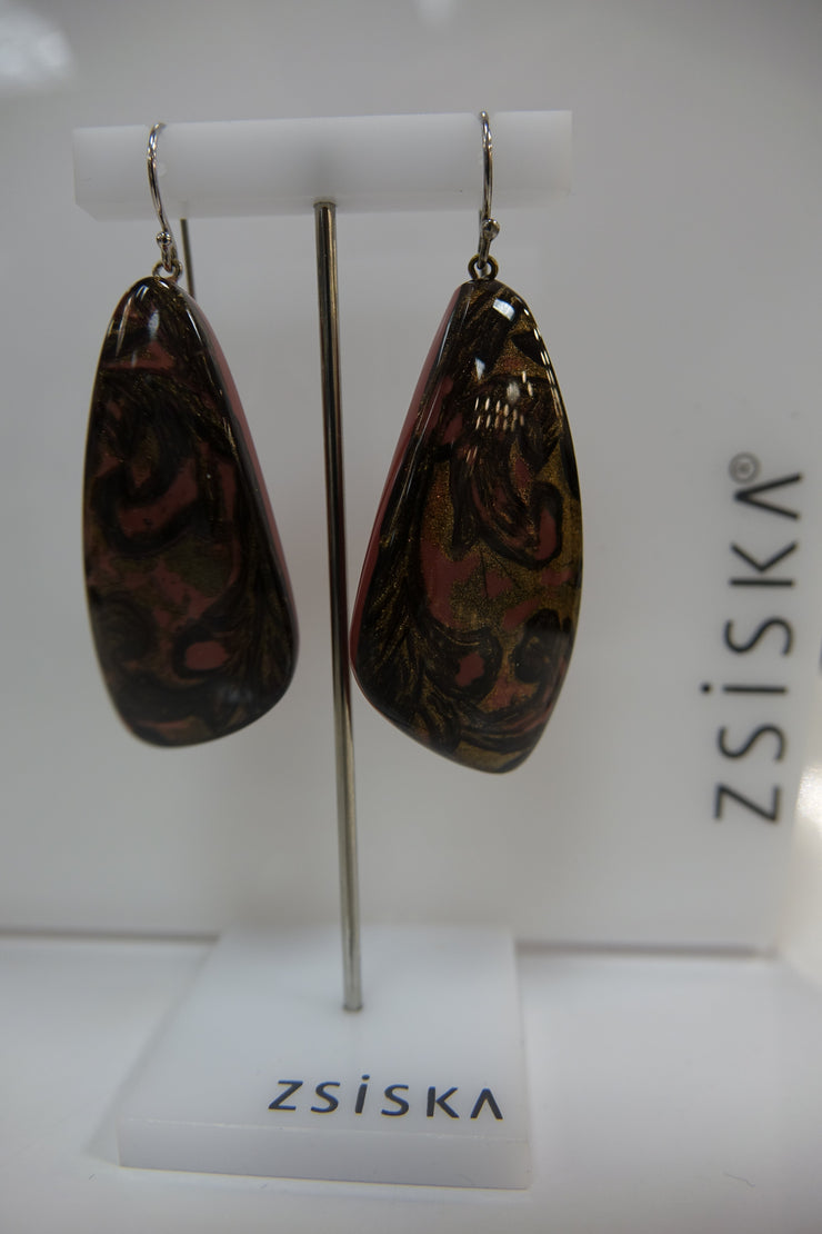 Paisley Shimmer Earrings