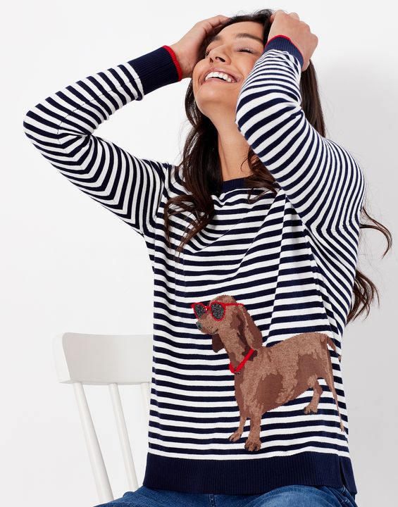MARLSTON PRINT HOODED SWEATSHIRT