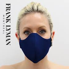 FL Face Mask Navy Solid