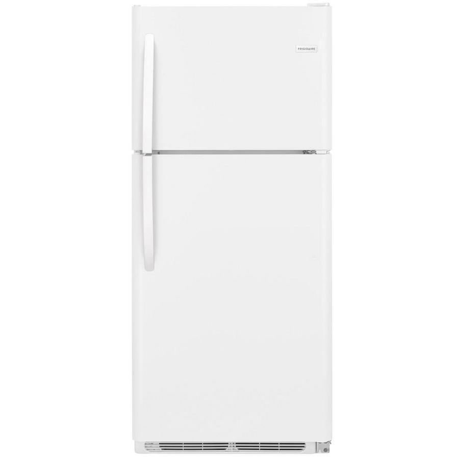 Frigidaire 20.4-cu ft Top-Freezer Refrigerator (White) ENERGY STAR (2)