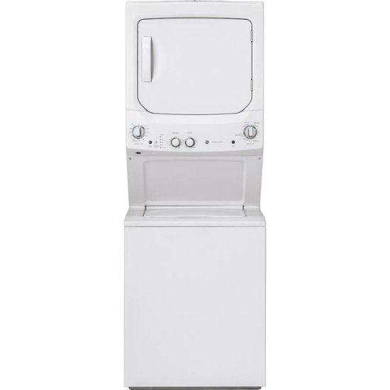 GE - Unitized Spacemaker 3.8 Cu. Ft. 11-Cycle Washer and 5.9 Cu. Ft. 4-Cycle Electric Dryer Combo