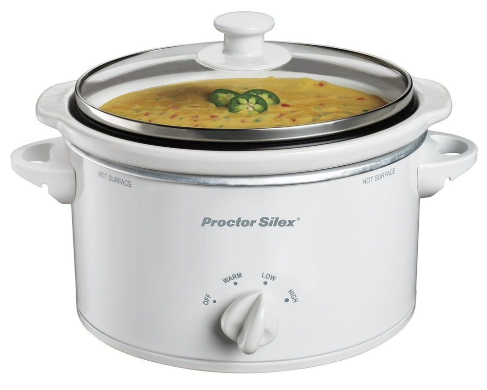 Proctor Silex 33116Y Portable Oval Slow Cooker, 1.5-Quart