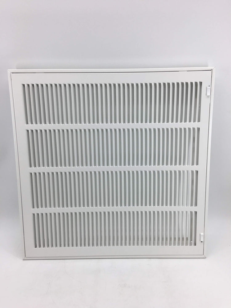 Accord ABRFWH2020 Return Filter Grille with 1/2-Inch Fin Louvered, 20-Inch x 20-Inch(Duct Opening Measurements), White