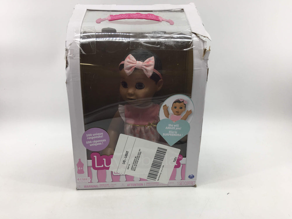 Luvabella Brown Hair Interactive Baby Doll with Expressions & Movement, Ages 4 & Up
