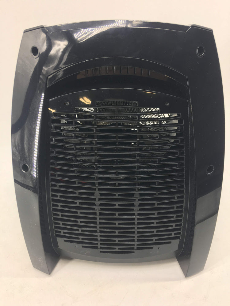 Vornado VH10 Vortex Heater with Adjustable Thermostat, 2 Heat Settings, Advanced Safety Features Black