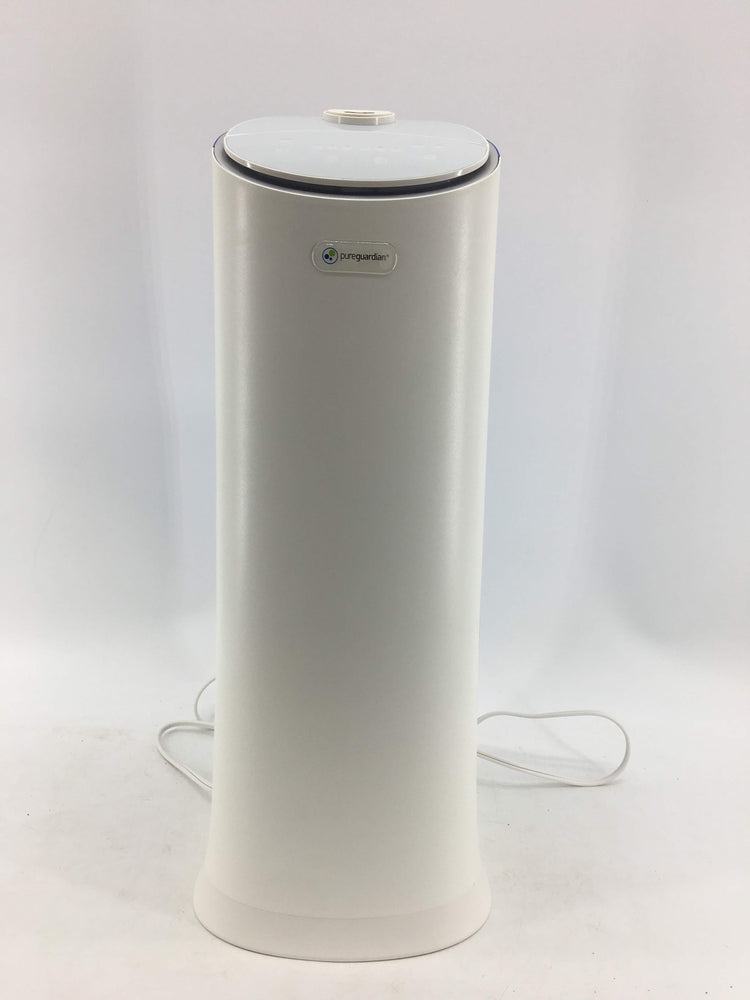PureGuardian H3200WCA Ultrasonic Cool Mist Humidifier for Bedrooms, Baby Nursery, Quiet, Filter-Free, 7.5L Output Up to 100 Hr Run Time, 1.5 Gal Treated Tank Surface Resists Mold, Pure Guardian Tower