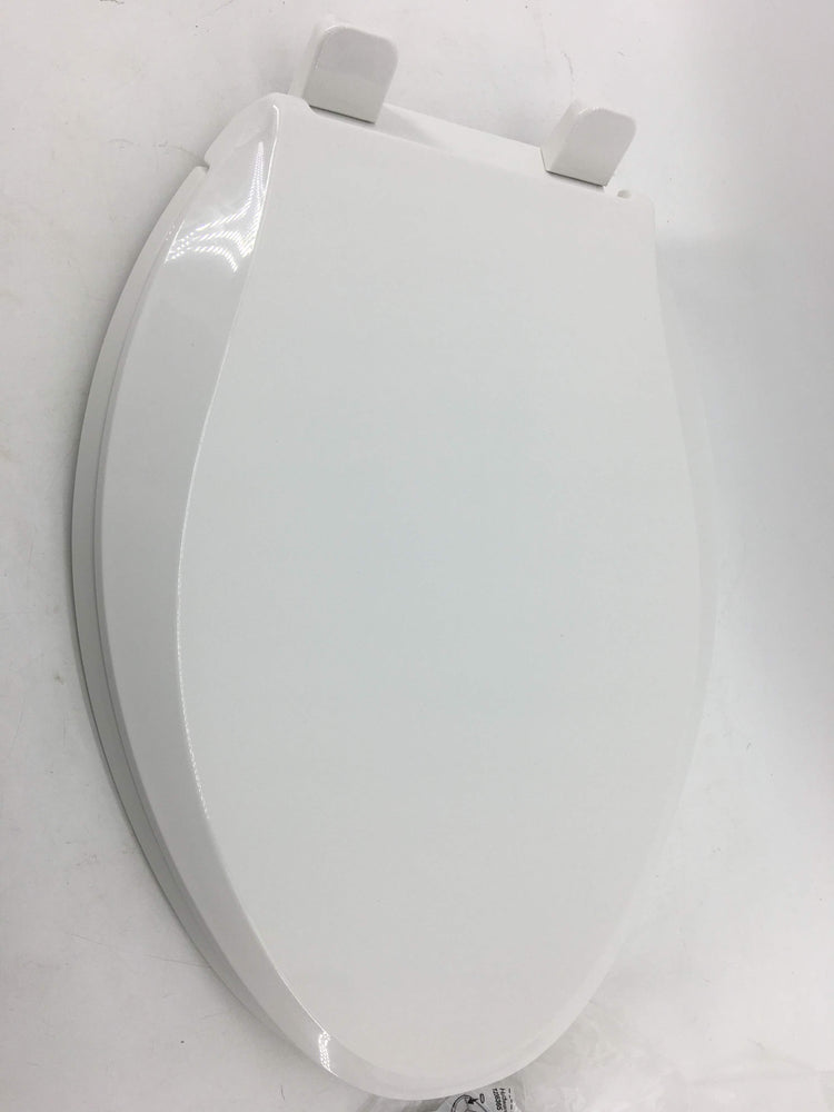 Astounding Kohler K 4636 0 Cachet Elongated White Toilet Seat With Grip Tight Bumpers Quiet Close Seat Quick Release Hinges Quick Attach Hardware No Slam Gamerscity Chair Design For Home Gamerscityorg