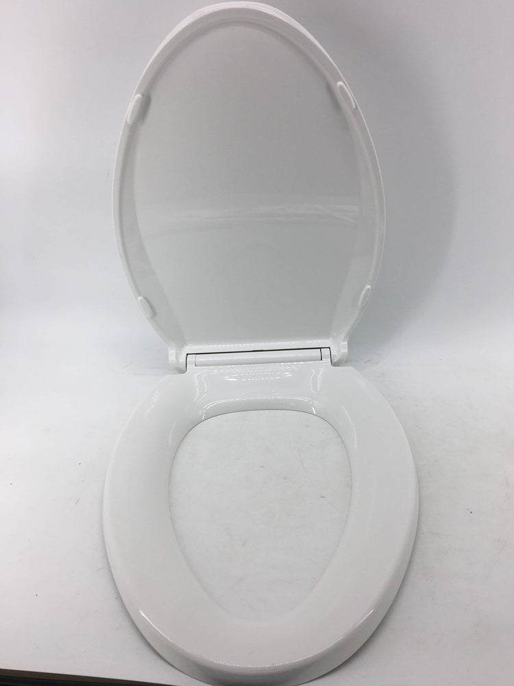 Awesome Kohler K 4636 0 Cachet Elongated White Toilet Seat With Grip Tight Bumpers Quiet Close Seat Quick Release Hinges Quick Attach Hardware No Slam Gamerscity Chair Design For Home Gamerscityorg