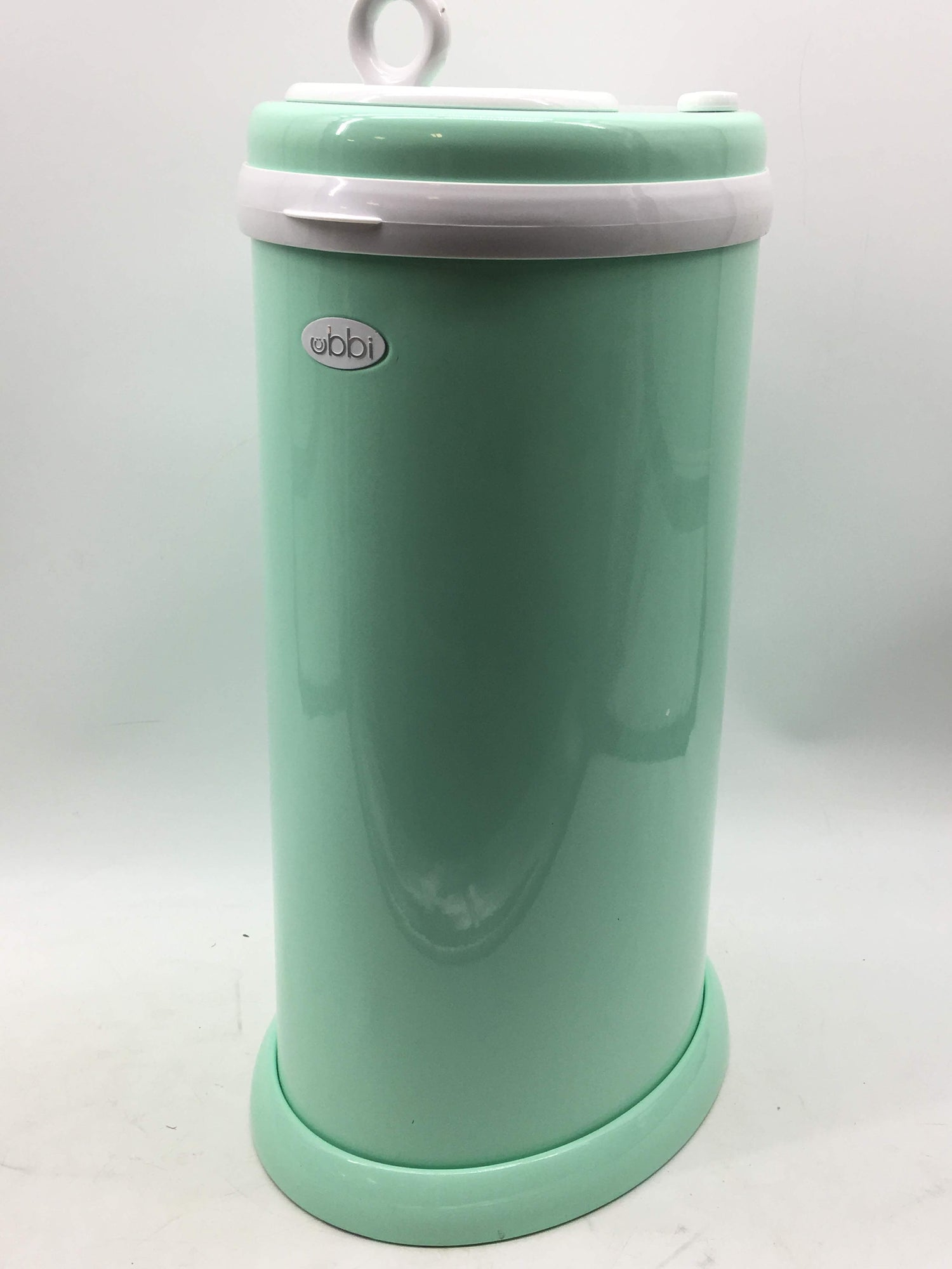 Ubbi Steel Odor Locking, No Special Bag Required Money Saving,  Awards-Winning, Modern Design Registry Must-Have Diaper Pail, Mint