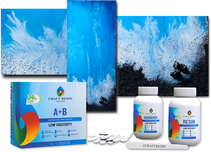 Craft Resin Epemium Quality Epoxy Resin Crystal Clear Epoxy Resin