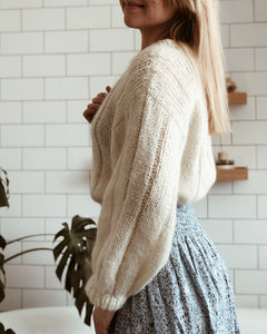 STRAIGHT LANES SWEATER
