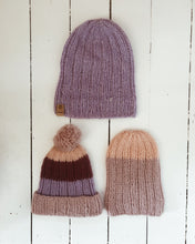Load image into Gallery viewer, Knit Knit Purl Beanie