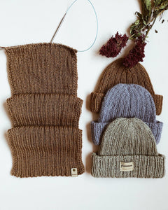 Strikkekit til Pretty Easy Beanie