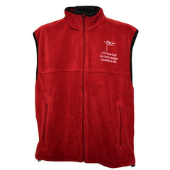 Maroon Fleece Vest