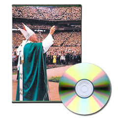 2 Hour Video Journal Documentary: St. John Paul II's 1987 Visit to Detroit- DVD