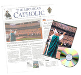St. John Paul II Detroit Visit Commemorative Michigan Catholic Subscription