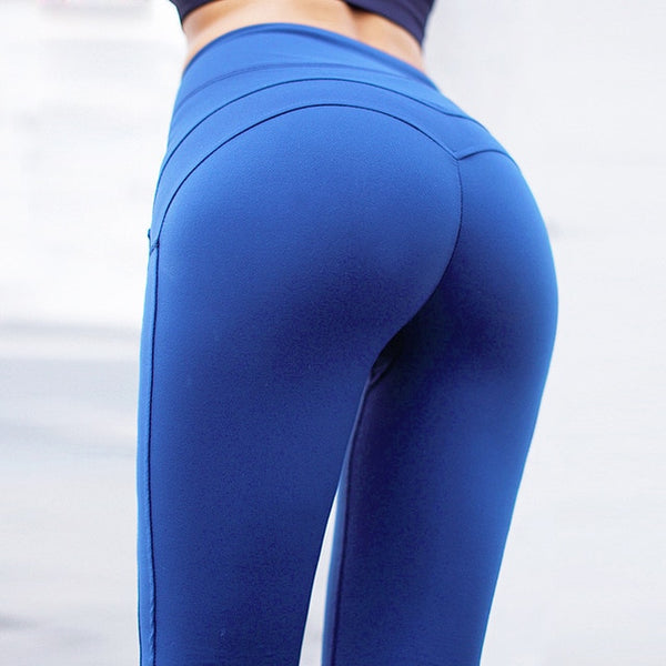 05832a8148d0c ... CHRLEISURE Women Workout Leggings Push Up Fitness Leggings Female  Fashion Patchwork Leggings Mujer 3Color ...