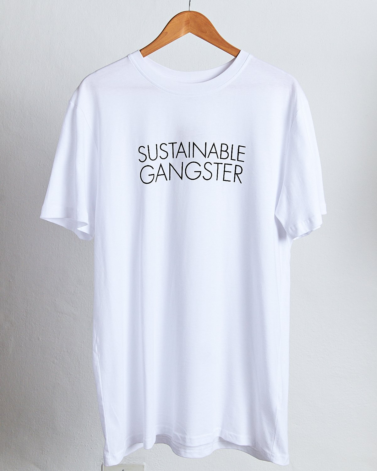 Sustainable Gangster Cotton T-Shirt (unisex)