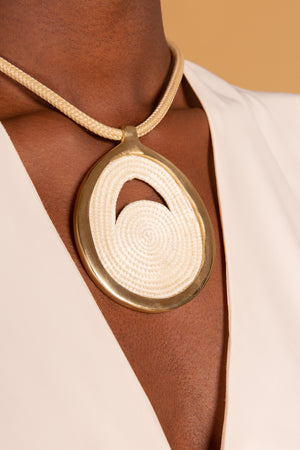 Open image in slideshow, Bongani Amulet Necklace