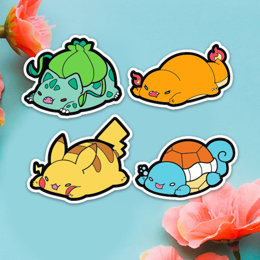 STICKER- PokeMood 4-Sticker Pack
