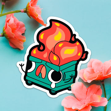 STICKER- Dumpster Fire