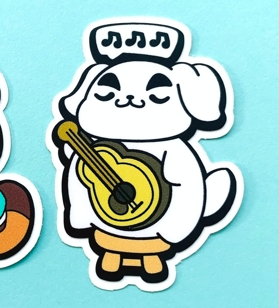 STICKER- AC-NH Dog
