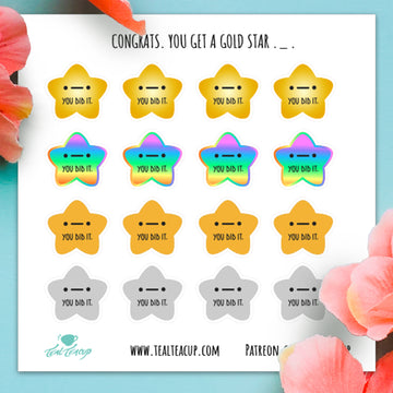 STICKER SHEET-