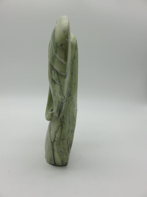 <span style='font-size:1em'>Elephant Abstract (large)</span><br><span style='font-size:0.7em'>Hand Carved Verdite Stone</span>